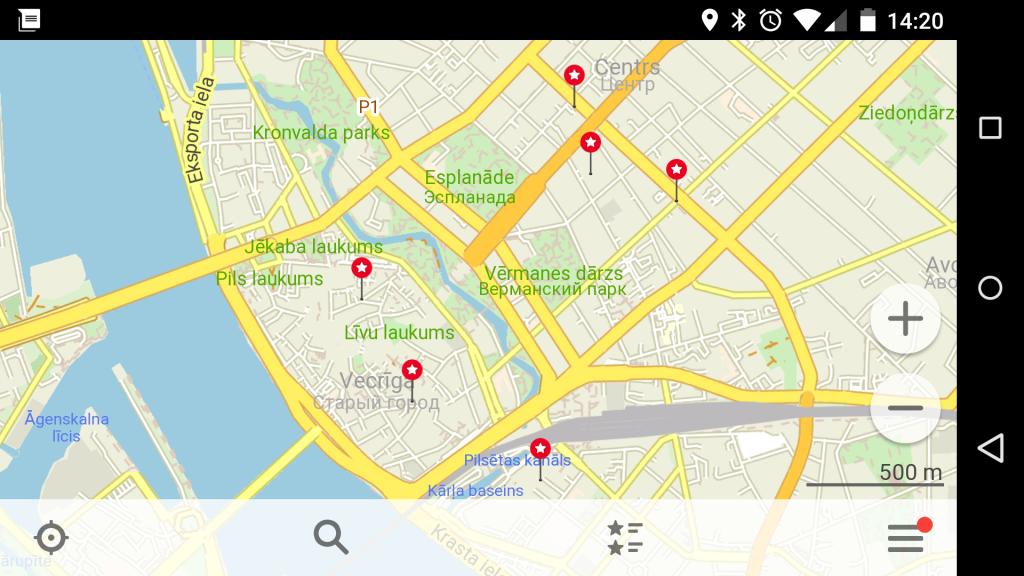 Riga POI
